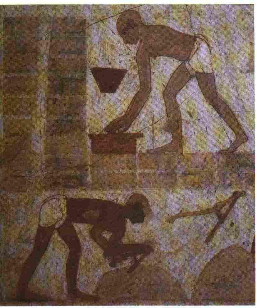 עבדים במצרים, עבודת פרך
