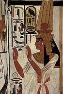 הולדת משה - שמות ב נפרטרי אשתו של פרעה רעמסס השני
