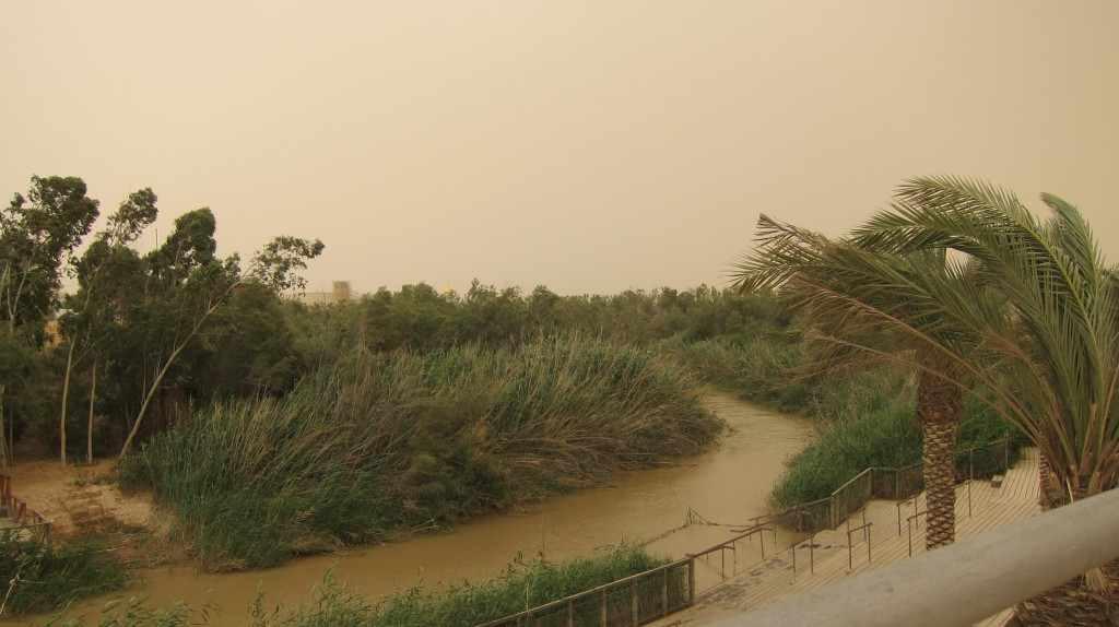נהר הירדן בסמוך ליריחו