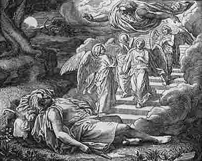 חלום יעקב, בראשית כח ציור של דורה