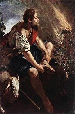 שמות פרק ג משה והסנה