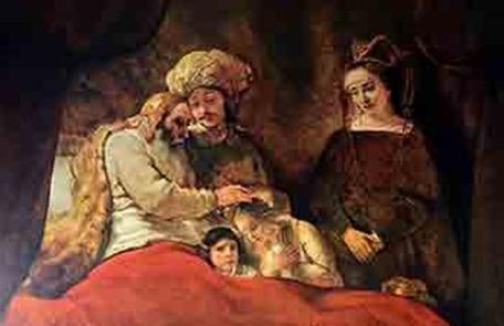יעקב מברך את אפרים ומנשה