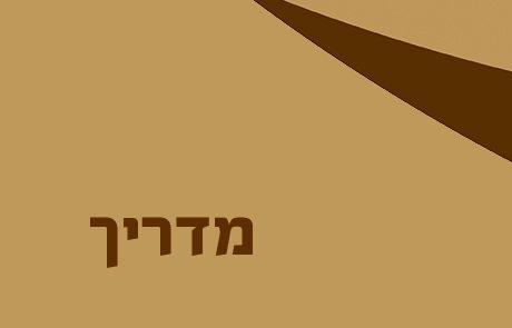מדריך  – מערכי שעור בספר יהושע