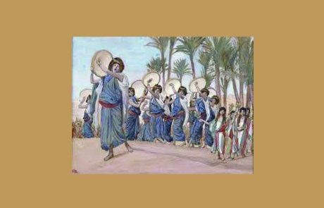 שמות פרק טו – שירת הים ומי מרה