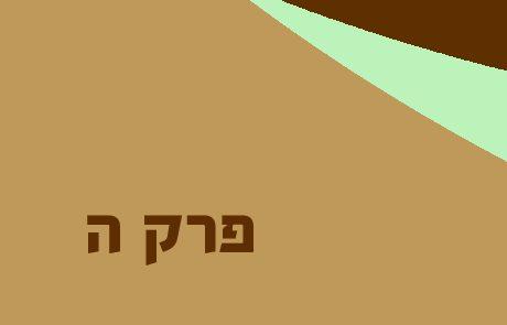 נחמיה פרק ה – ביטול חובות העניים