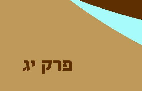 במדבר פרק יג – מרגלי משה – סיור, דיווח ומסקנות
