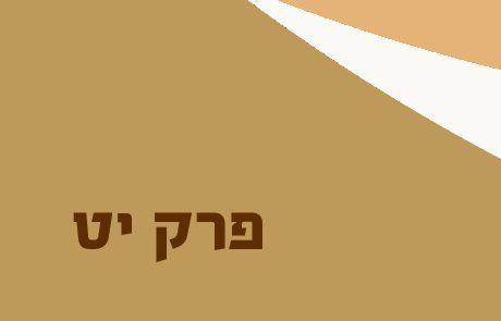 שמואל א פרק יט – סיכום ונושאים למיקוד