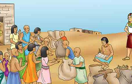 בראשית מז – יוסף וכלכלת מצרים בשנות הרעב
