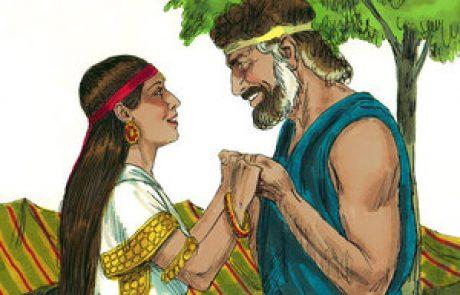 אהבת יעקב לרחל – מעובד לילדים (בראשית כט)