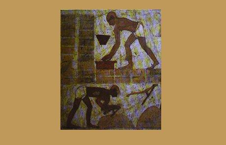 שמות פרק ה – משה ואהרן לפני פרעה; הכבדה בעבודת הפרך